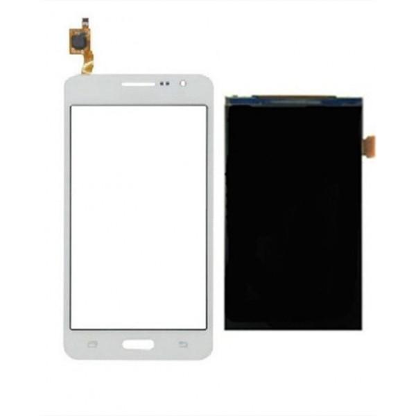 Conector Jack y Flex Volumen para Iphone Blanco 4S