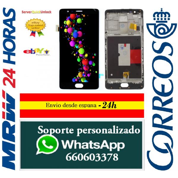 Pantalla Completa para Alcatel Idol 2 Ot6037K Lcd +Tactil Blanca