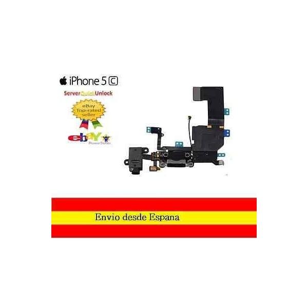 Flex Carga Micro Y Entrada Jack Iphone 6S Blanco
